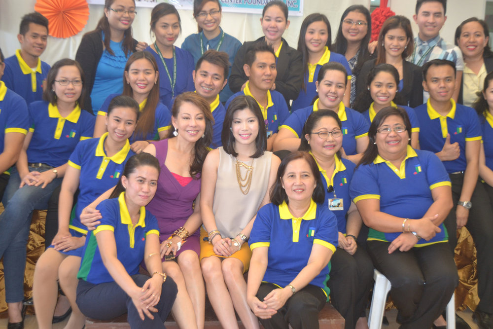 Joji Ilagan Bian (Chairman) and Nicole Ilagan Hao Bian (Vice President for Education Development) together with the Joji Ilagan Career Center Foundation, Incorporated faculty and staff were working hand-on-hand to ensure quality education, exceptional service and educational standards to the JIB students. (Photo courtesy of  Joji Ilagan Bian)