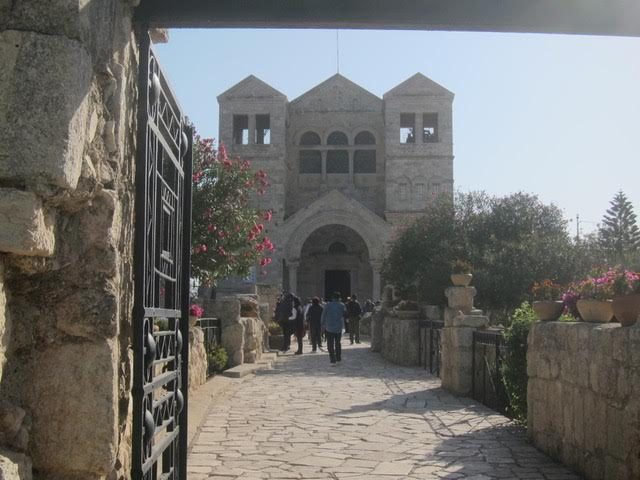 The Church of the Transfiguration atop Mount Tabor (Photo by Mona Lisa Yuchengco)