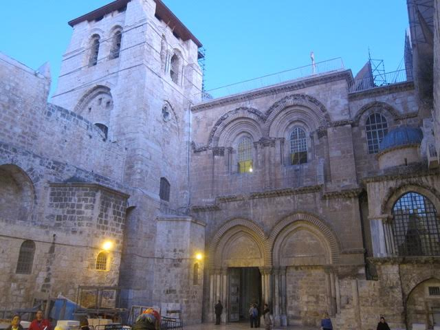 The Church of the Holy Sepulchre (Photo by Mona Lisa Yuchengco)