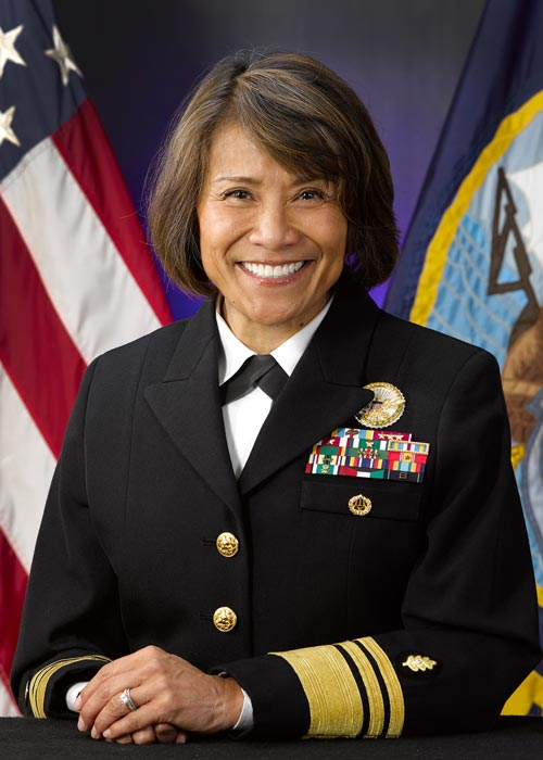 Vice Admiral Raquel C. Bono (Source: Wikipedia)