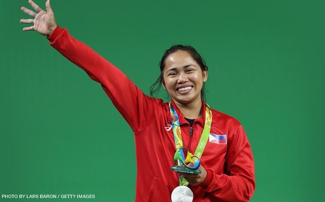Hidilyn Diaz (Photo by Lars Baron/Getty Images)
