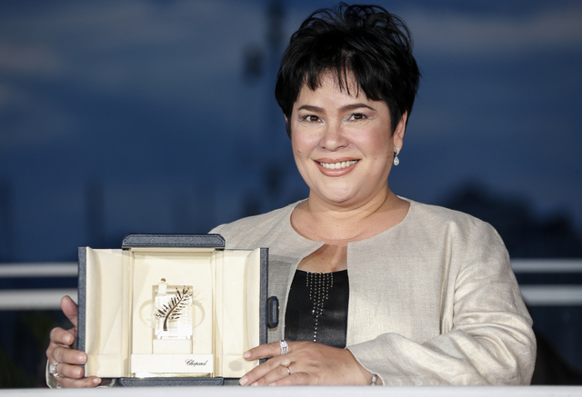 Jaclyn Jose (Photo by Julien Warnand/EPA)