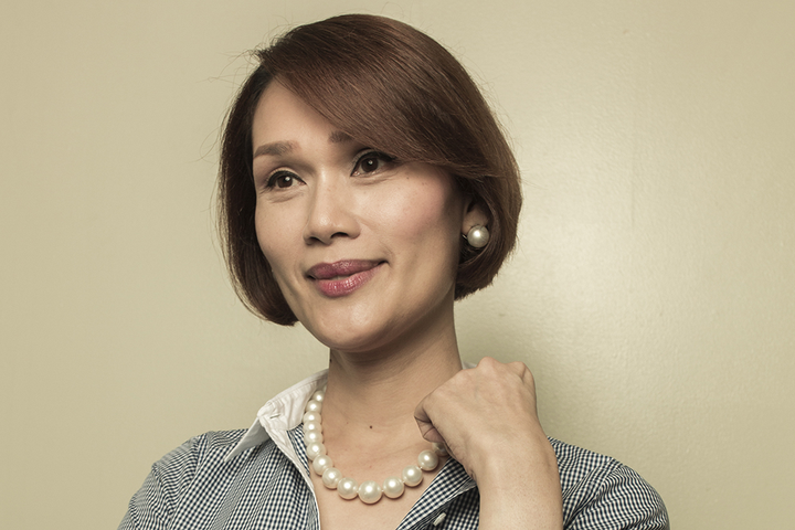 Geraldine Roman (Source: CNNPhilippines)