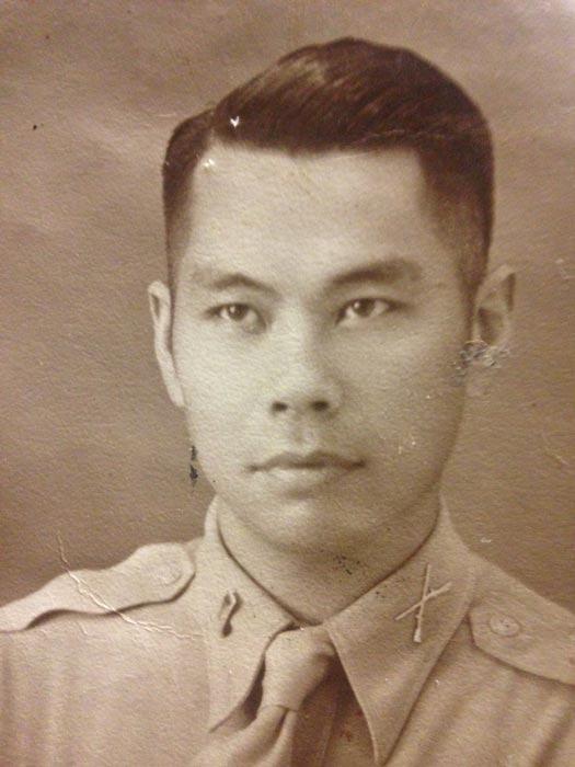 Maj. Gregorio G. Melegrito, Philippine Armed Forces (Photo courtesy of Jon Melegrito)