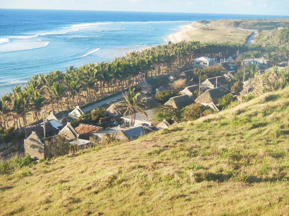 The small village of Savidug in Batanes is one of thousands of coastal communities throughout the Philippines that could be affected by rising sea-level and more frequent typhoons from climate change. (Photo by Mitzi Imperial)