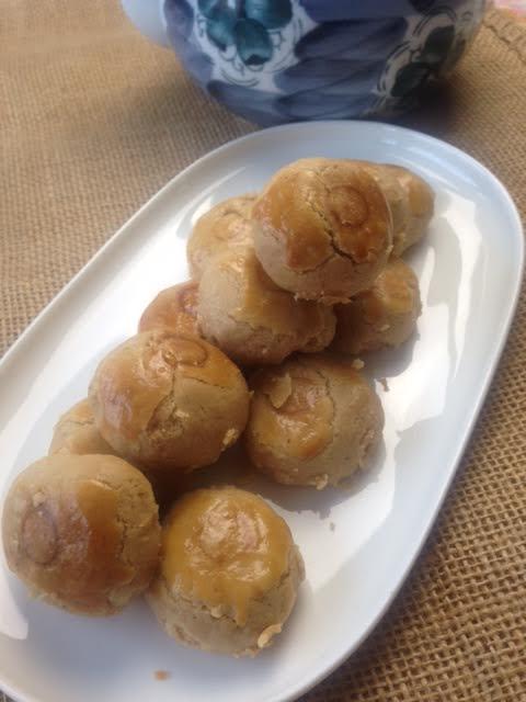 Chinese Peanut Cookies. (Photo by Besa-Quirino, LLC ©)