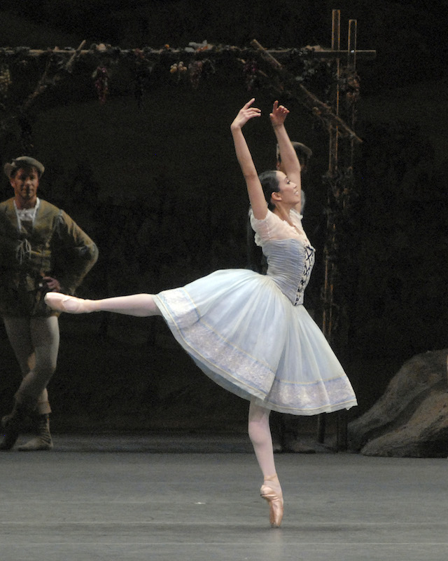 Stella Abrera in  Giselle.  (Photo by MIRA)