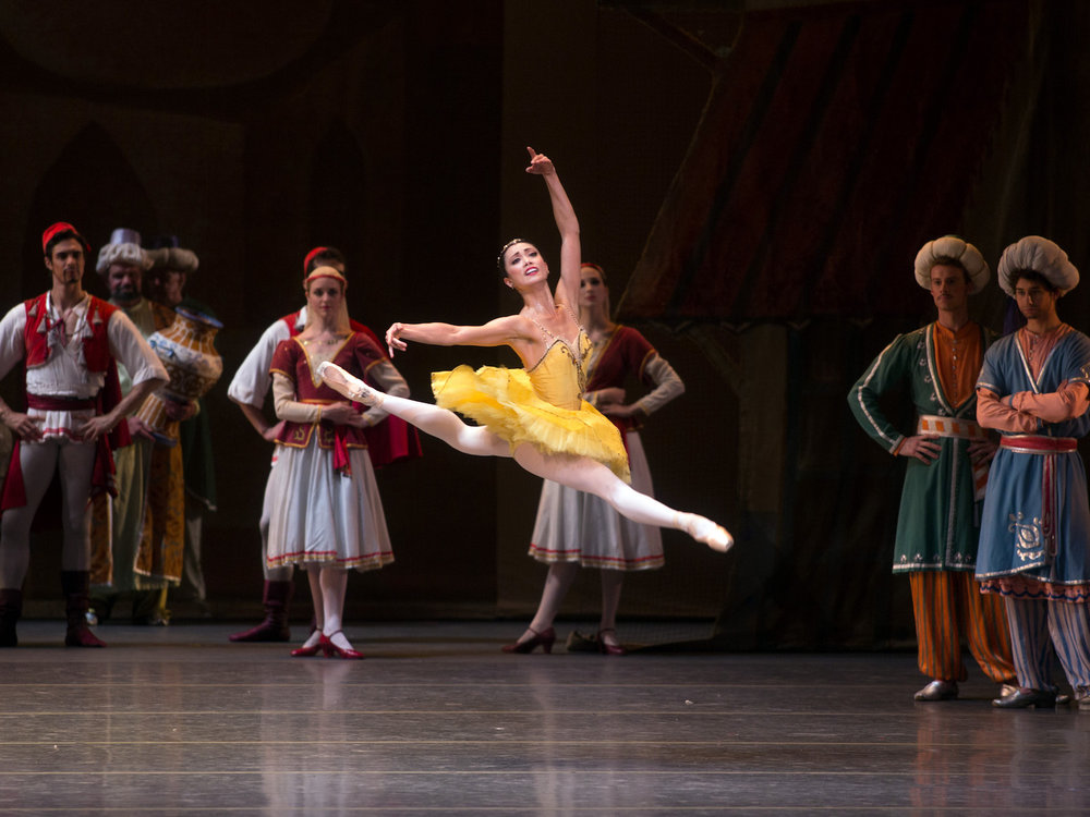 Stella Abrera in  Le Corsaire.  (Photo by Rosalie O'Connor)