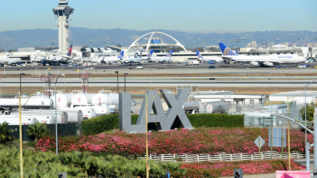 Los Angeles International Airport (Source: CBS)