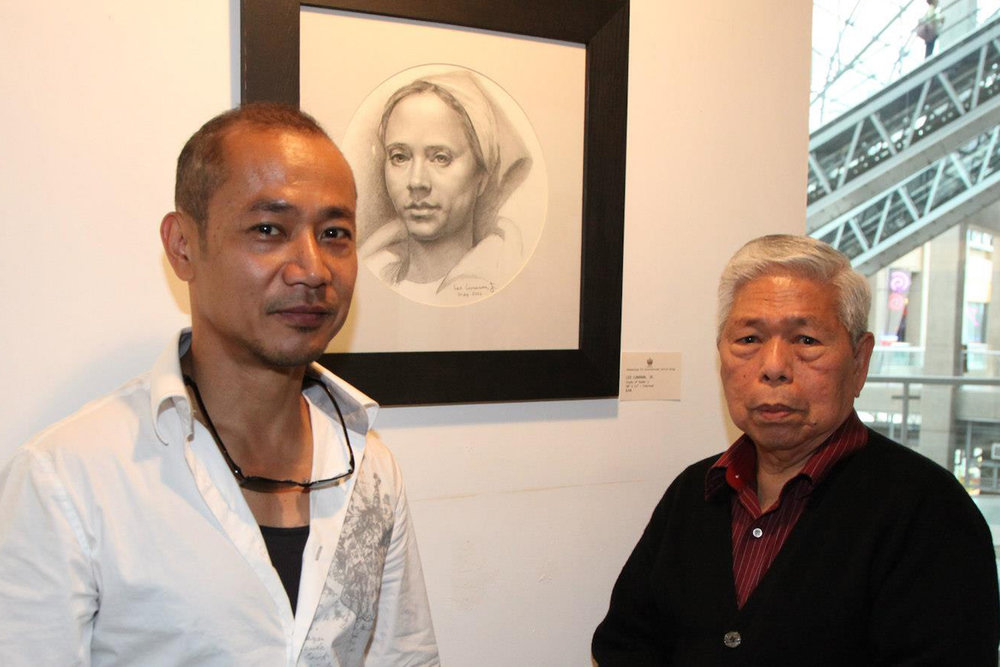 Leo Cunanan and his mentor, SYM (Photo courtesy of Leo Cunanan)