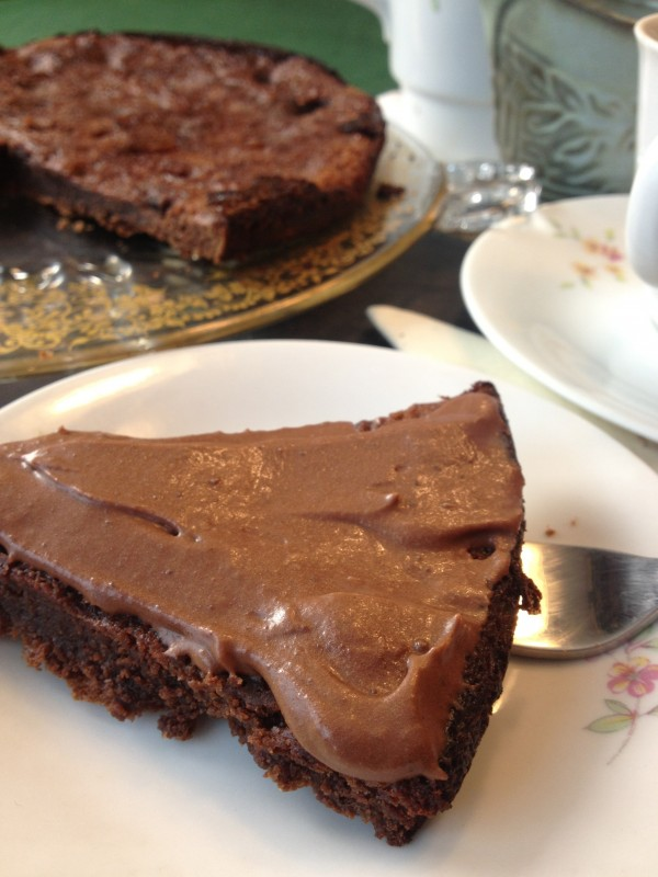 Flourless Chocolate Cake with the Filipino Tablea (Photo by Besa-Quirino, LLC ©)
