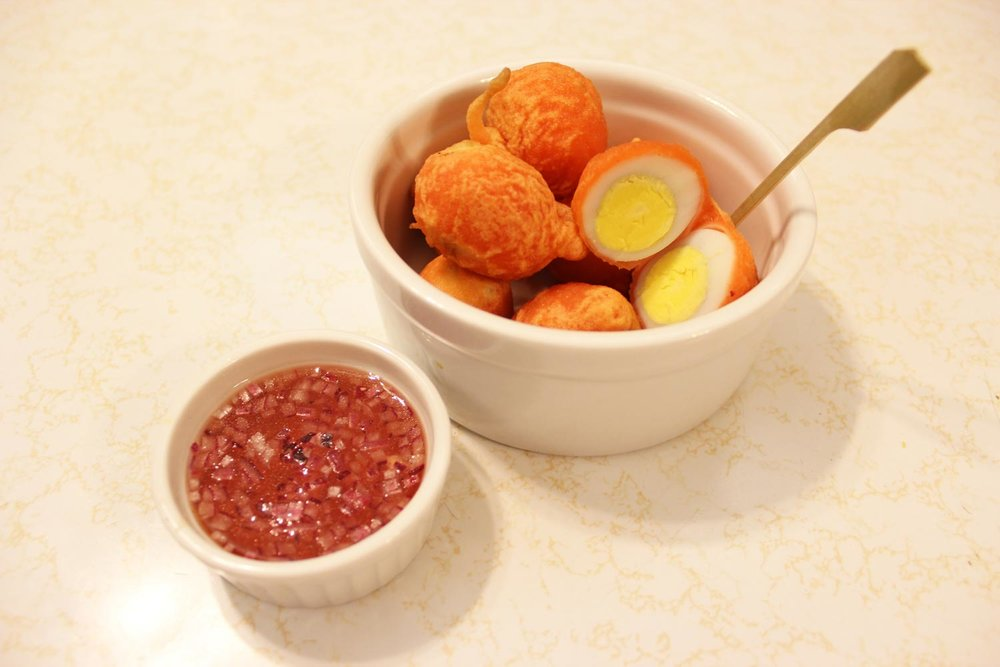Kwek-Kwek (Photo courtesy of Kanto by Tita Flips)