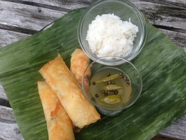 Lumpiang Tinapa with Salmon (Photo by Besa-Quirino, LLC ©)