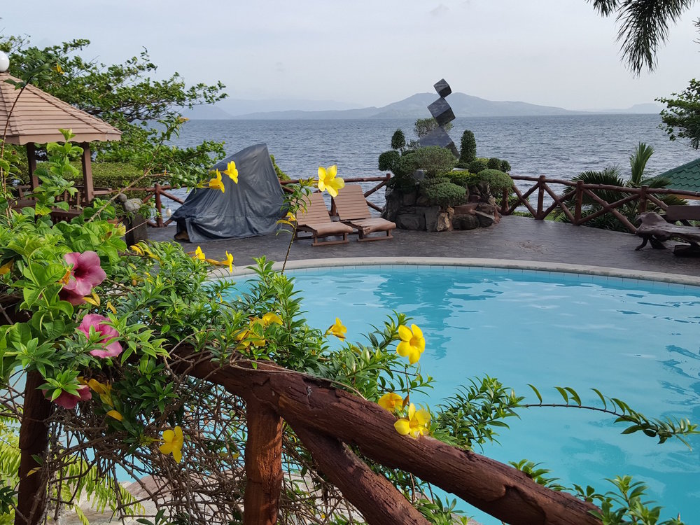 Another view of Taal Volcano from a lakeside home in San Nicolas, Batangas (Photo by Irwin Ver)