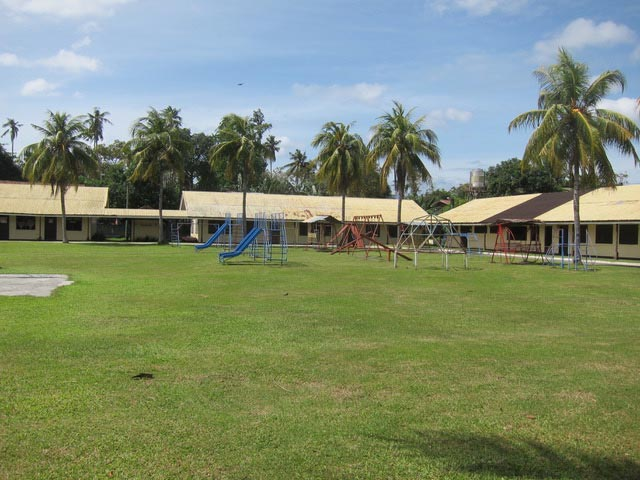 The grounds of Davao School for the Blind