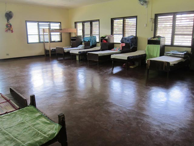 The girls' dormitory