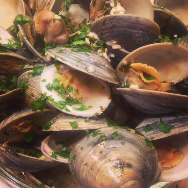 Manila Clams in Pinot Grigio (Photo by Besa-Quirino, LLC ©)
