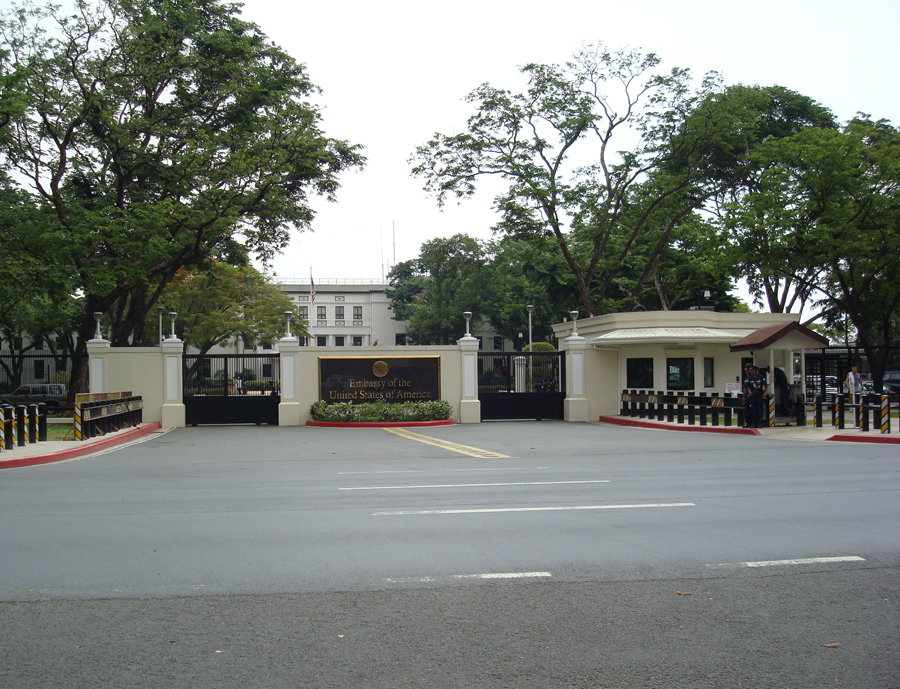 The US Embassy in Manila is believed to be Ground Zero for CIA activities in Southeast Asia. (Source: Wikipedia)