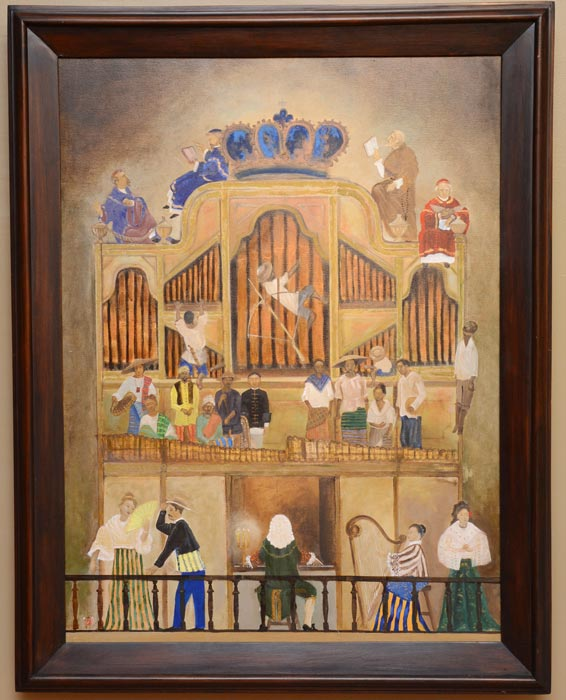 The music of the patronato  (Photo courtesy of the National Museum of the Philippines)