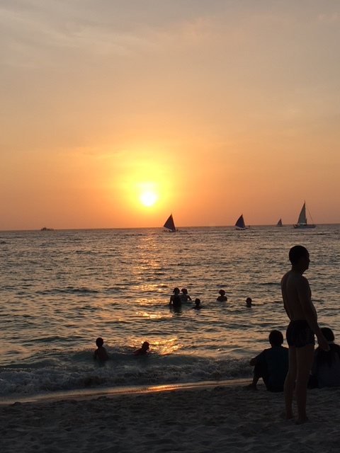 The famous Boracay sunset (Photo by Gemma Nemenzo)
