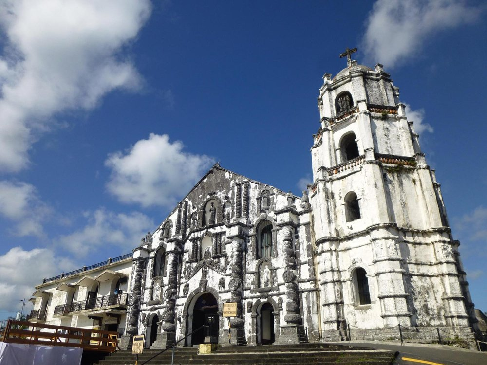 The Church at Daraga (Photo by Criselda Yabes)