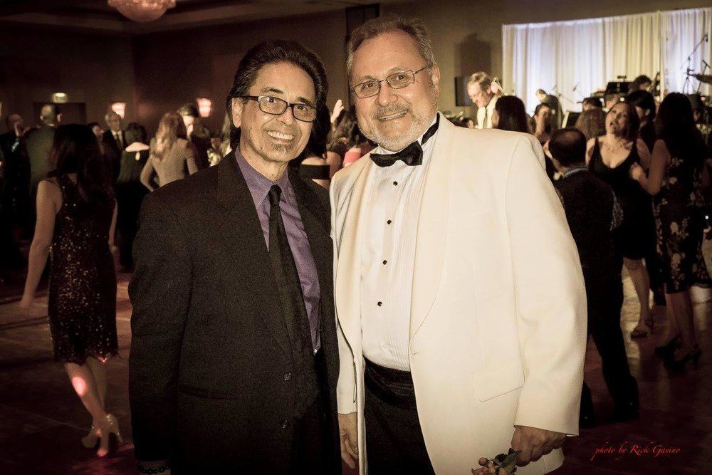 Carlos Zialcita and Bob Shroder at the Hilton Glendale (Photo by Rick Gavino ©2017)