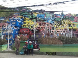 The favelas of Bagiuo