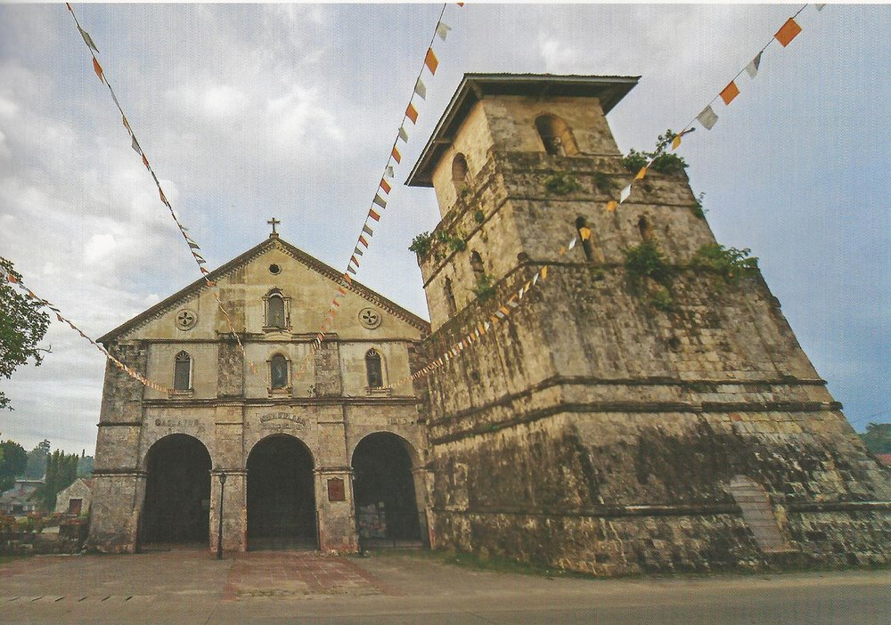 Church of Our Lady of the Immaculate Conception in Baclayon, Bohol (Source: The Lasting Links with Spain: The Churches of the Philippines)