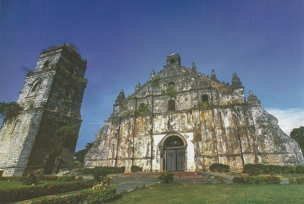 Church of St. Augustine in Paoay, Ilocos Norte (Source: The Lasting Links with Spain: The Churches of the Philippines)
