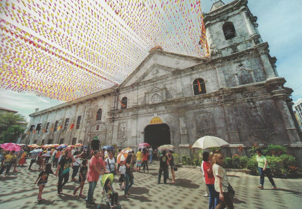 Minor Basilica for the Holy Child in Cebu City, Cebu   (Source: The Lasting Links with Spain: The Churches of the Philippines)