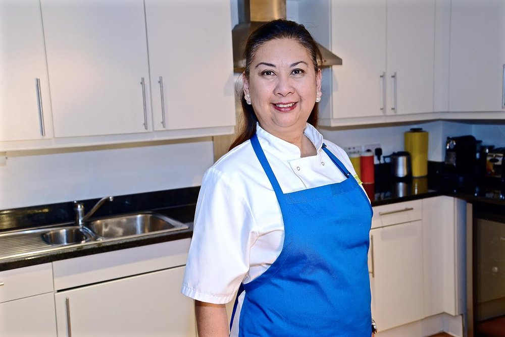 Roni Bandong, UK Maynila Supper Club's co-founder is a senior events executive by day but is a self-confessed foodie and self-taught chef who recently won a cook-off on a prime time TV show. (Photo courtesy by Roni Bandong and Gina Consing McAdam)