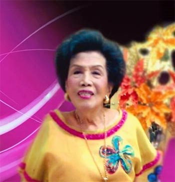 The late Helena Z Benitez, former Senator and long-time Chairwoman of PWU's Board of Trustees who passed away at 102 years of age in 2016.