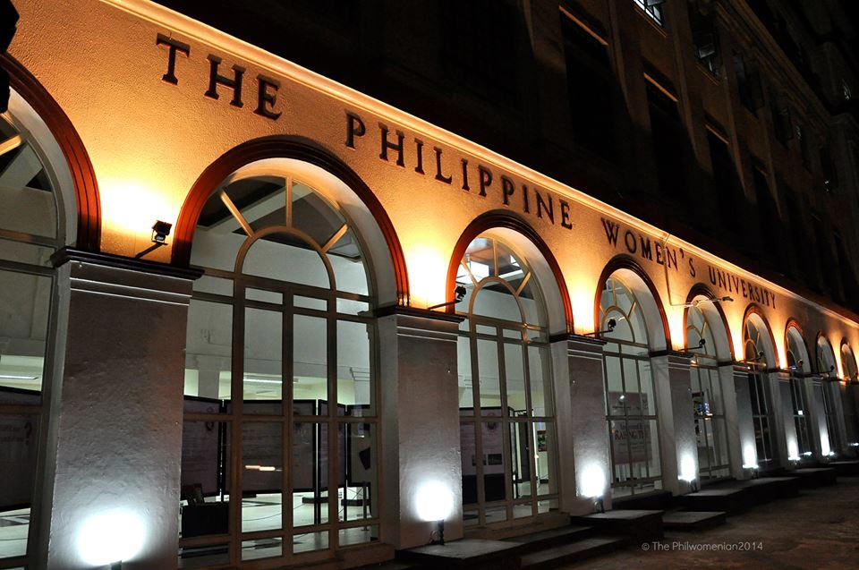 PWU's campus façade on Taft Avenue in Manila
