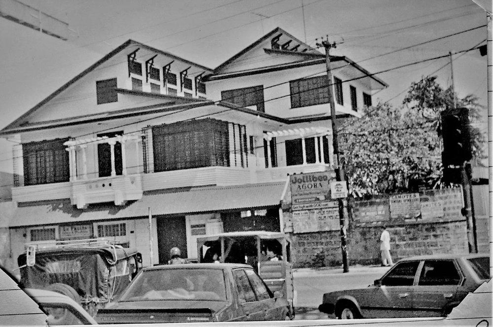 My Lolo's house in San Juan, Metro Manila