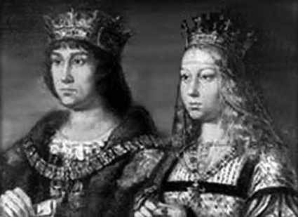 King Ferdinand and Queen Isabella of Spain (Source: hisorex.com)