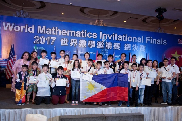 The Philippine Team at the World Math Invitational (Source: Rappler.com)