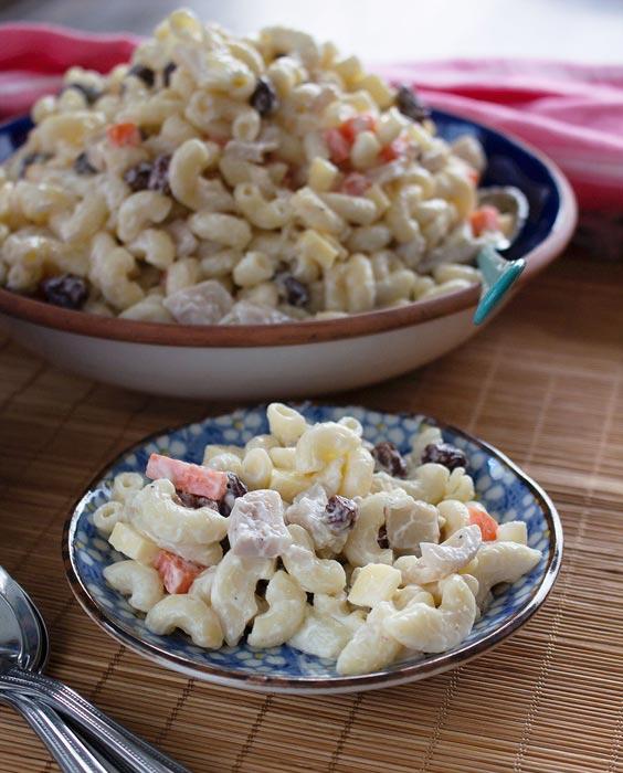 Vegan Filipino Macaroni Salad (Photo by Astig Vegan)