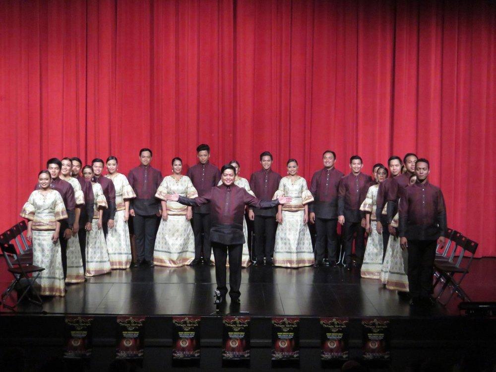 Philippine Madrigal Singers (Photo courtesy of the Philippine Madrigal Singers)