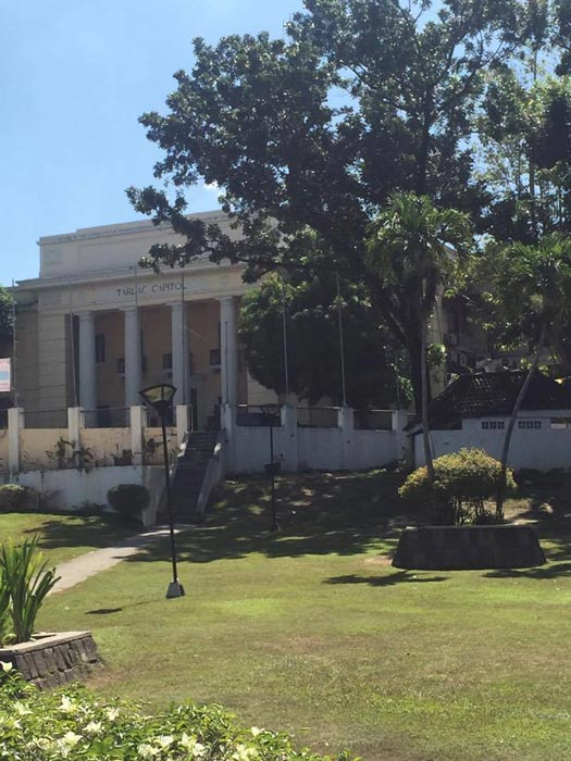 Tarlac Provincial Capitol is located in Tarlac City ( Photos by Elizabeth Ann Quirino)