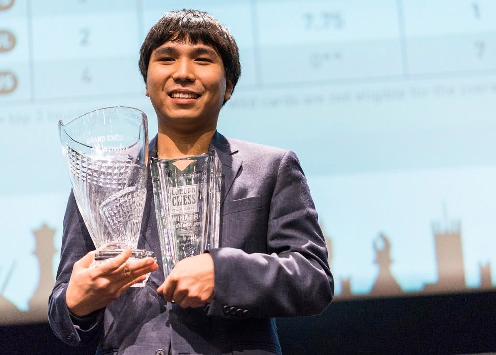 Wesley So winning 2016 London Chess Classic and Grand Chess Tour (Source: chesshive.com)