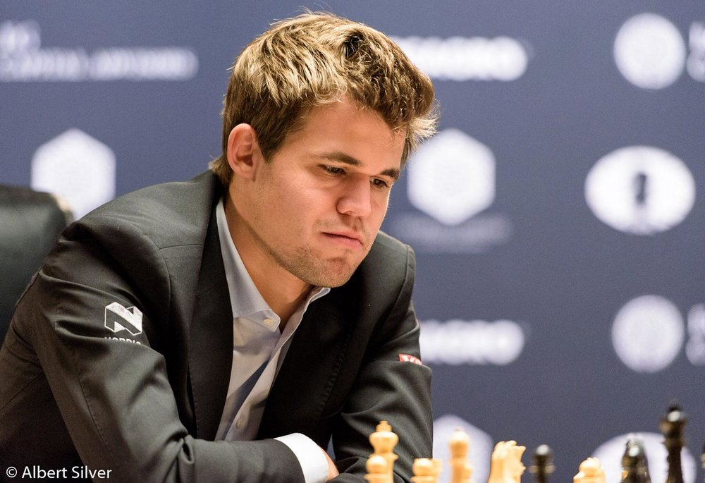 World Chess Champion Magnus Carlsen of Norway (Photo by Albert Silver)