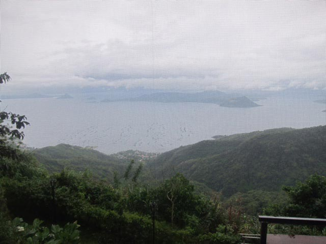 The view of Taal Volcano and Lake is definitely a deciding factor in choosing Balay Dako to have a meal.