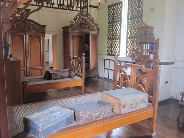 One of the rooms at Balay ni Tana Dicang with its original and authentic furnishings.
