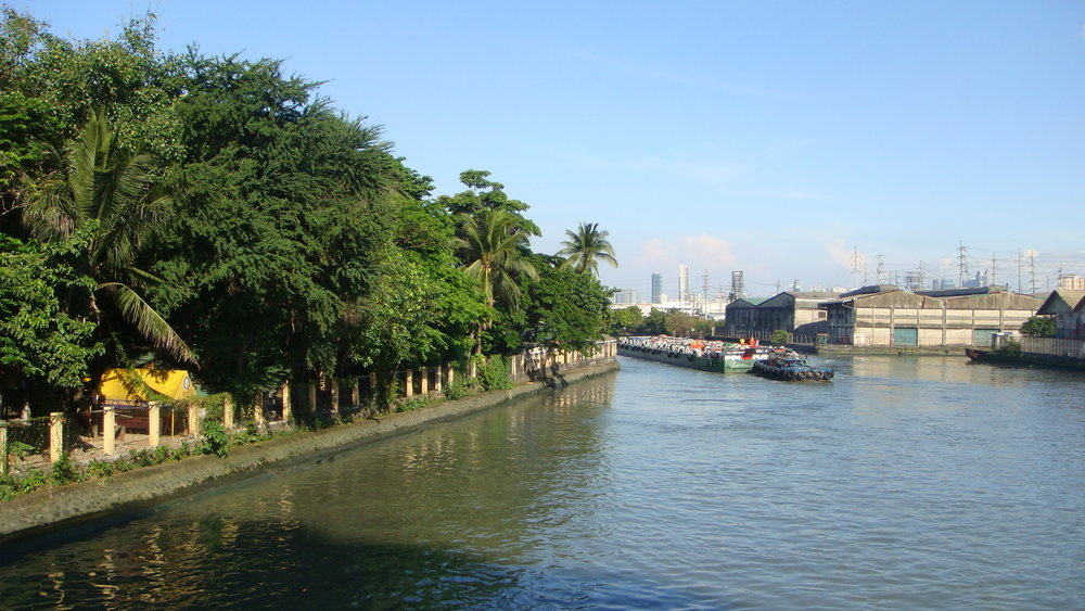 Isla de Convalescensia on the Pasig River (Photo by Ramon Velasquez/Wikimedia Commons)