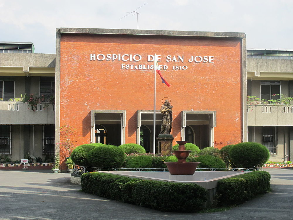 Hospicio de San Jose (Photo by 1200px-Tomenbang/Ursua/Villapando/ Wikimedia Commons)