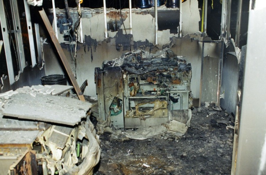 Damaged interiors (Photo from FBI files/Scripps Media)