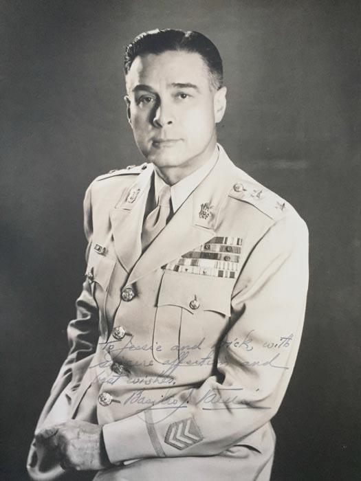 Major General Basilio Valdes