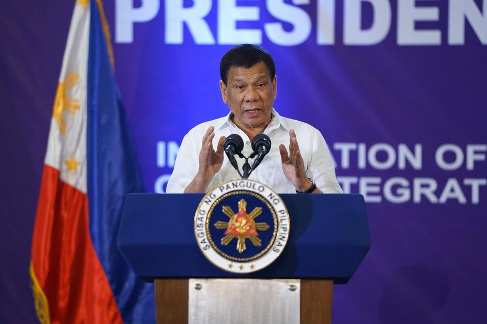 Preident Rodrigo Duterte (Photo from Malacañang Palace)