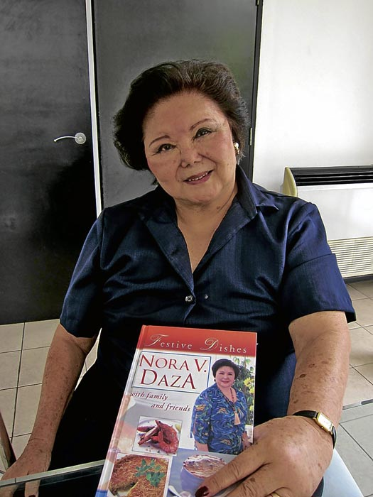 Nora Daza (Source: Inquirer.net)