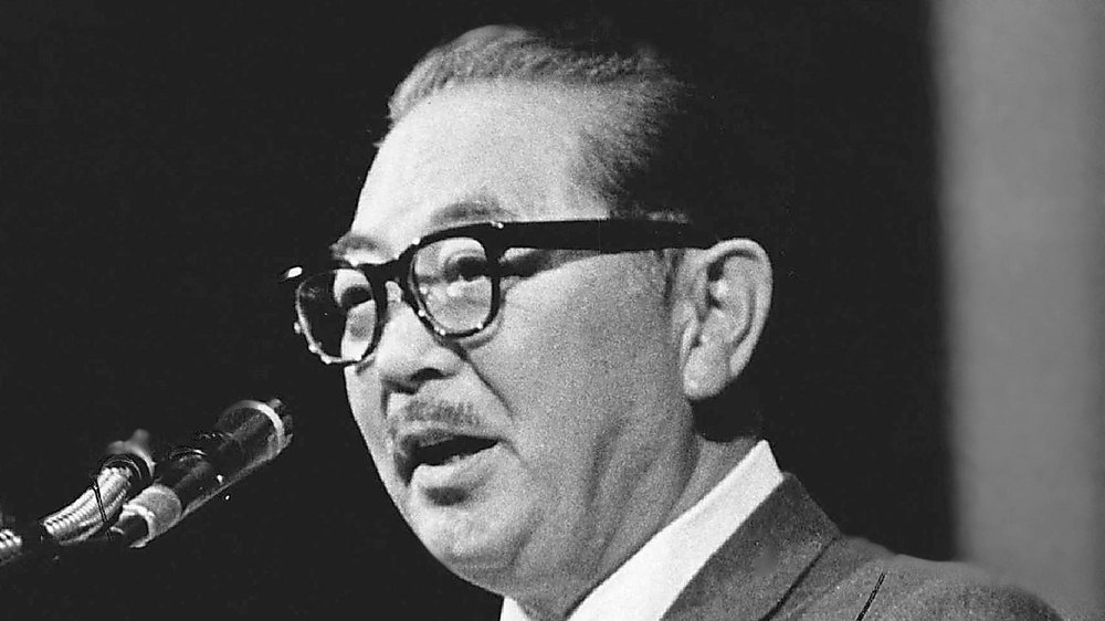 Senator S.I. Hayakawa (Source: Los Angeles Times)